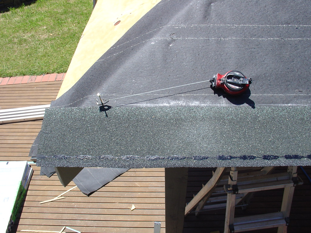 Outdoor Patio Roof Chalk Lines Www Diy Roofing Com Au