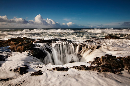 Thor's Well | by Nathaniel Reinhart