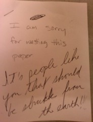 That seems just a wee bit harsh, no? | by passiveaggressivenotes