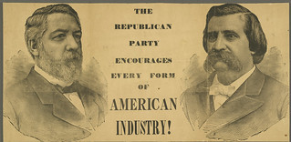 The Republican Party encourages every form of American industry! | by Cornell University Library