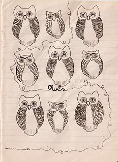 owls | by miss.pipedream.