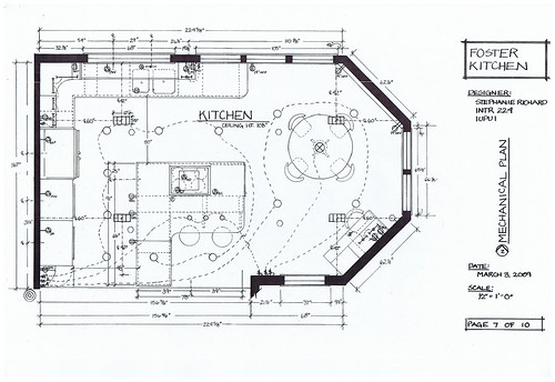 Foster Kitchen Design Mechanical Plan By Therichardlife