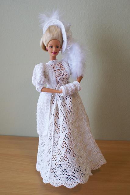 Crochet Barbie Dress Pattern Is From Paradise