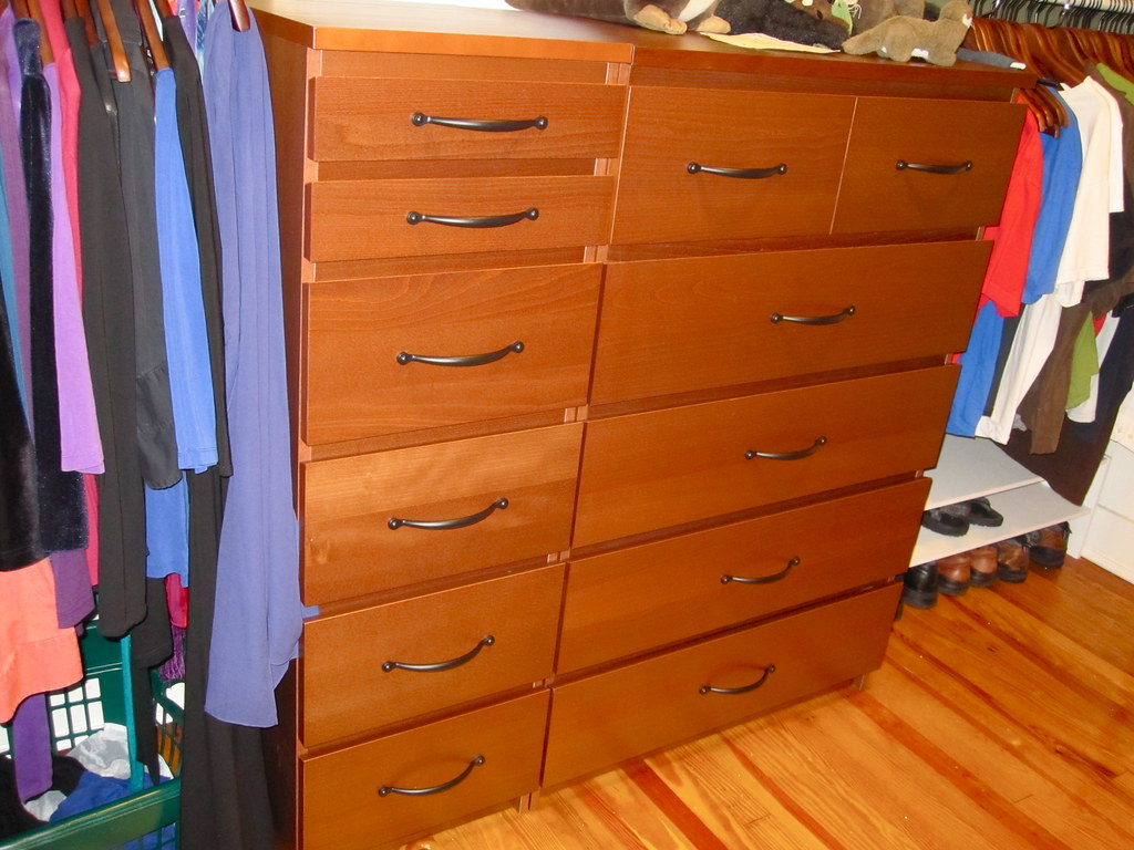 Malm Dressers With Signera Handles Adding The Handles To