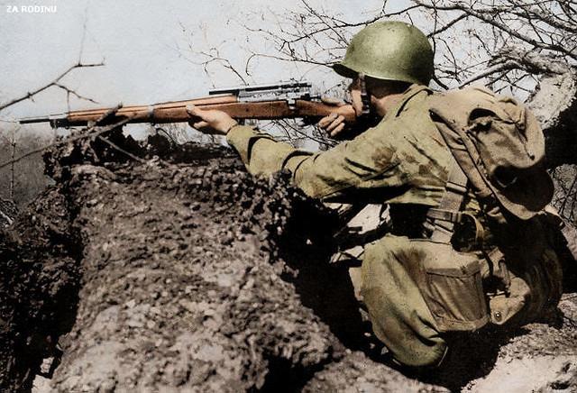 u s  army sniper ww2