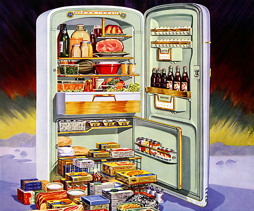 how to get large fridge upstairs