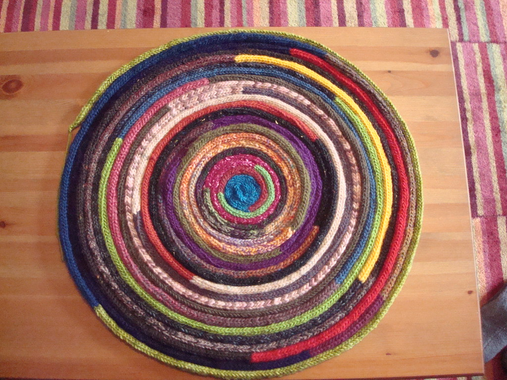 I Cord Rug This Is My Fun A Day Nc Project Each Day Of
