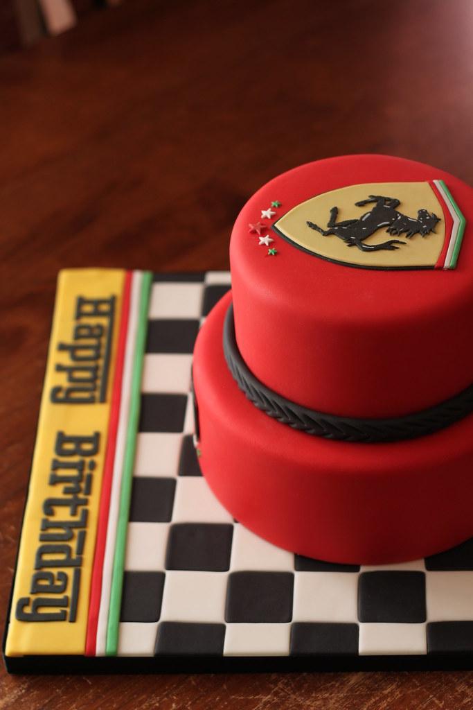 Ferrari Inspired Cake Andrea Sullivan Flickr