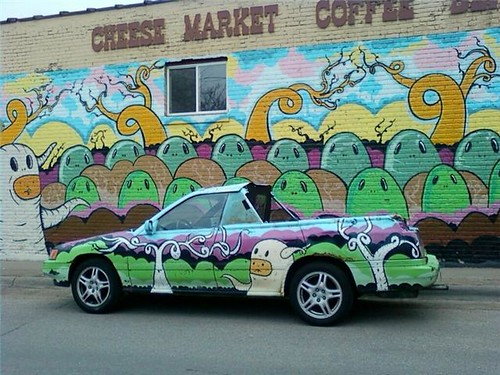 car and mural | by artisbad