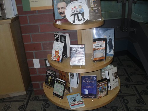 Einstein Book Display | by Princeton Public Library, NJ