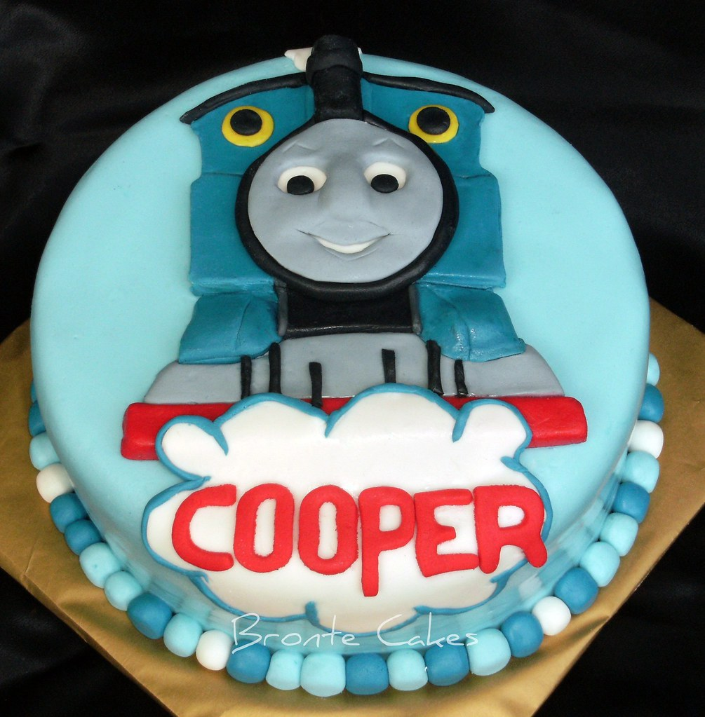 Thomas Engine Birthday Cake
