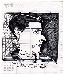 Portrait-Julia Kay by artbwf
