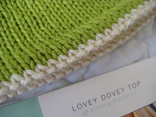 Lovey Dovey Top .:. Spud & Chlöe | by Twisted Knitter