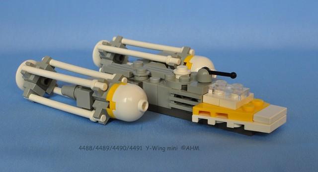 A Mini Y Wing I Built Lego