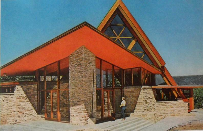 1950s a frame church rural modern architecture vintage pho for Architecture 1950