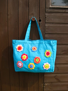 crochet embelished bag | by bunny mummy