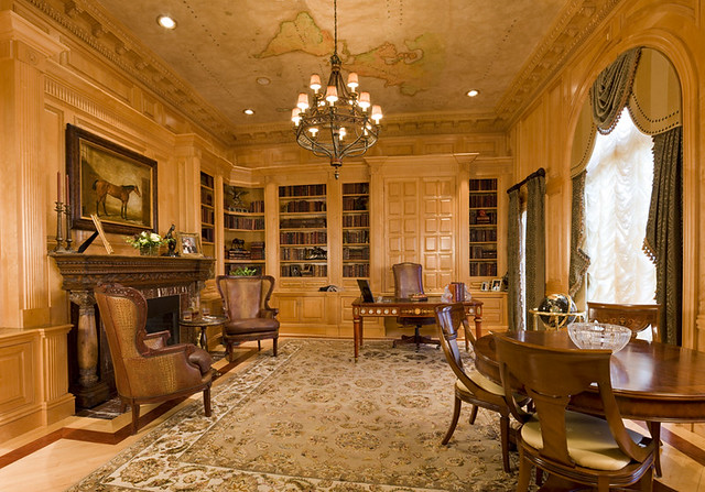 Luxury Home LibraryLuxury Office