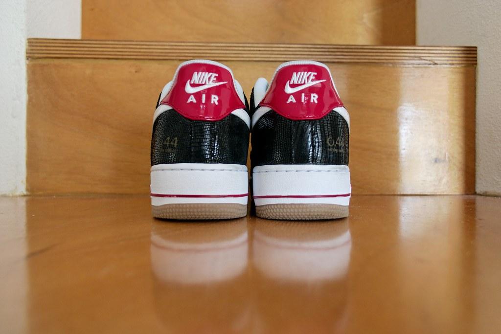 best website b1375 f2265 ... Nike Air Force 1 Low Premium Black White Varsity Red 010   by Rooog