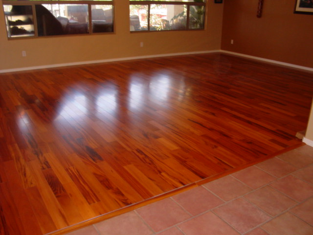 Tigerwood Hardwood Floor 1400 Sf Armstrong Hartco Engineer Flickr