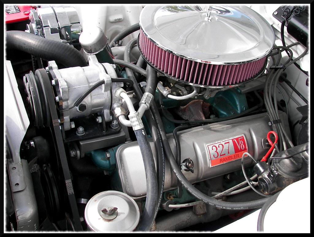 rambler 327 engine