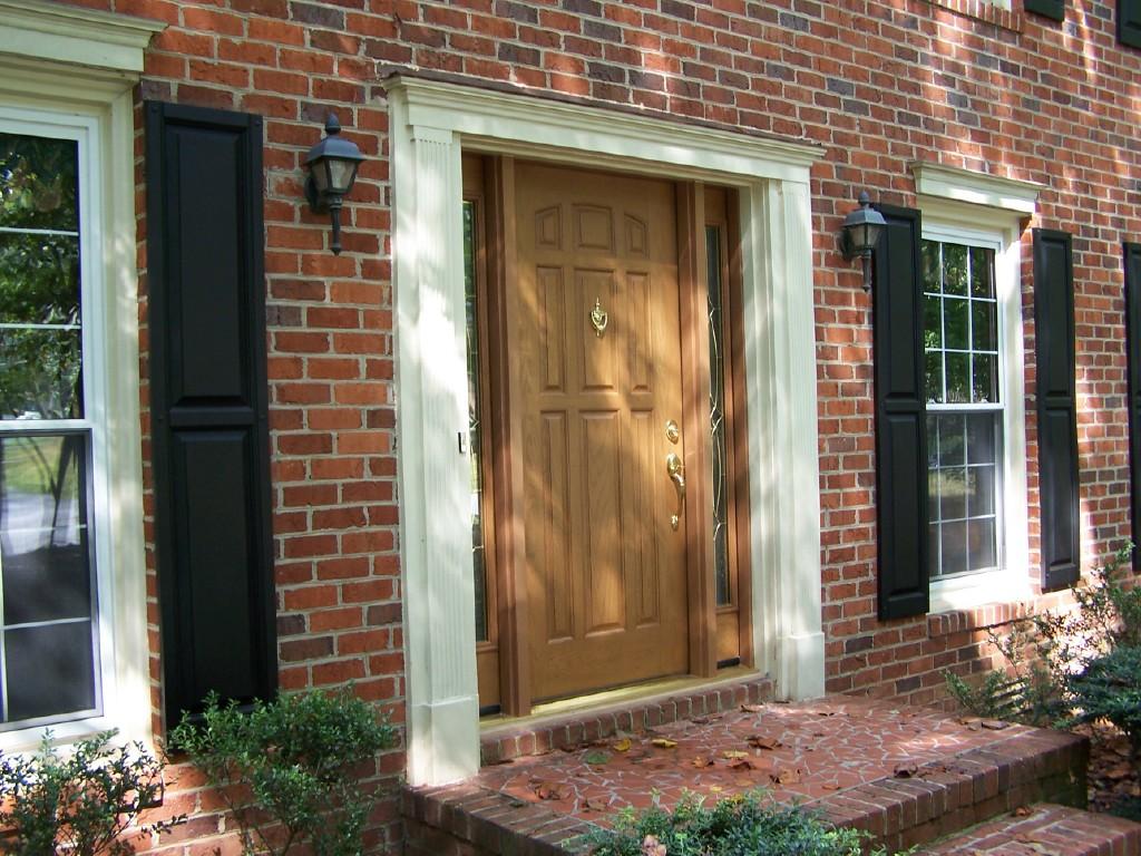 768 #8F633C Door Custom Fiberglass Entry Door And Sidelites Ntm1909 Flickr save image Custom Fiberglass Doors 45971024