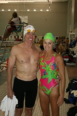 Chris Frogley and Marcia Barry