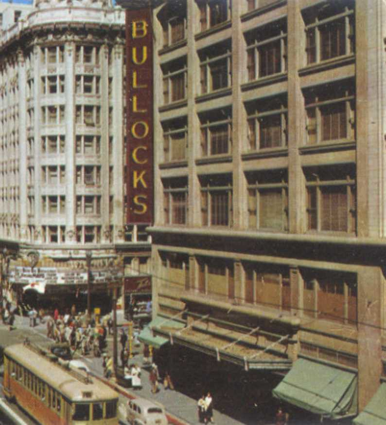 Bullock S Department Store Downtown Los Angeles 7th And Hi