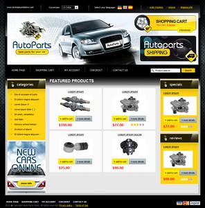 auto parts oscommerce template a professional auto parts w flickr. Black Bedroom Furniture Sets. Home Design Ideas