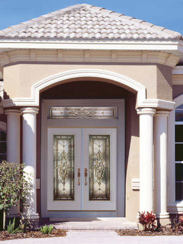 White Entry Doors feather river door fiberglass entry doors - smooth white d… | flickr