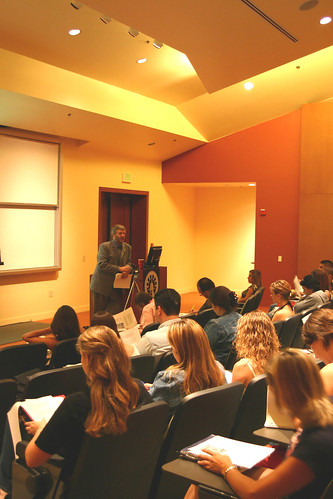 Professor Kevin Volkan Lecturing during Psychology Class | by California State University Channel Islands