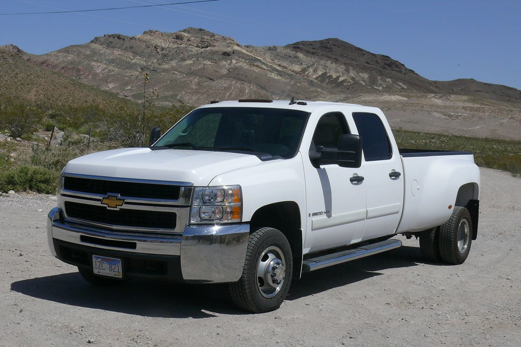 2007 Chevrolet Silverado 3500hd Diesel Dually Larry