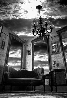 the parlor , Thank you Jerry Uelsman | by lauraxfire...