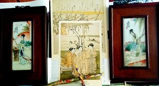 """книжкова виставка-подорож """"Колоритна мандрівка до Японії"""". 28.06.17. ім. О. Грибоєдова"""