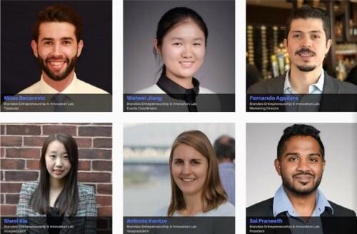 The Entrepreneurship and Innovation Club Leadership at Brandeis IBS