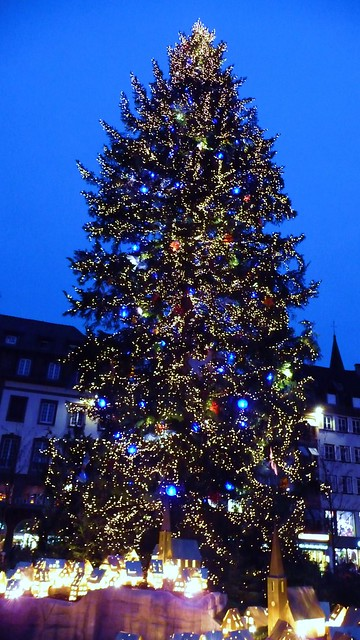 Sapin de no l g ant d cor et illumin strasbourg flickr photo sharing - Sapin de noel illumine ...