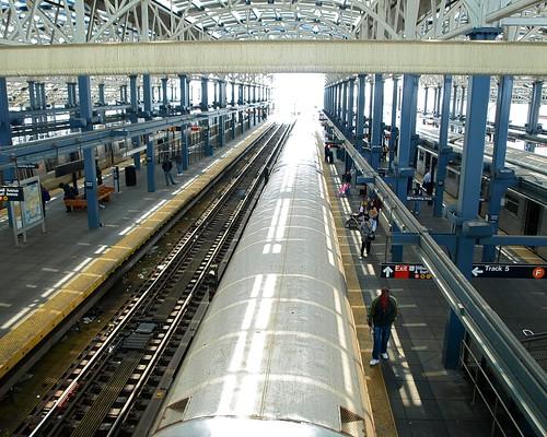 Coney Island Stillwell Avenue Subway Station Brooklyn Ne