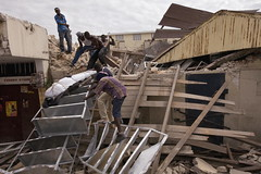 Haitians Retrieve Deceased from Collapsed Building | by United Nations Photo