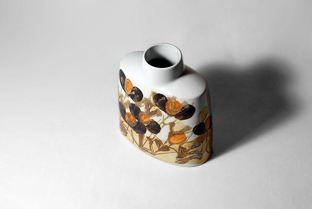 Ellen Malmer Vase For Royal Copenhagen Denmark Maker Ro Flickr