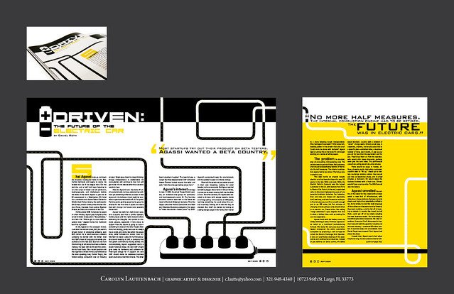 Editorial layout for Wired magazine | c lautt | Flickr