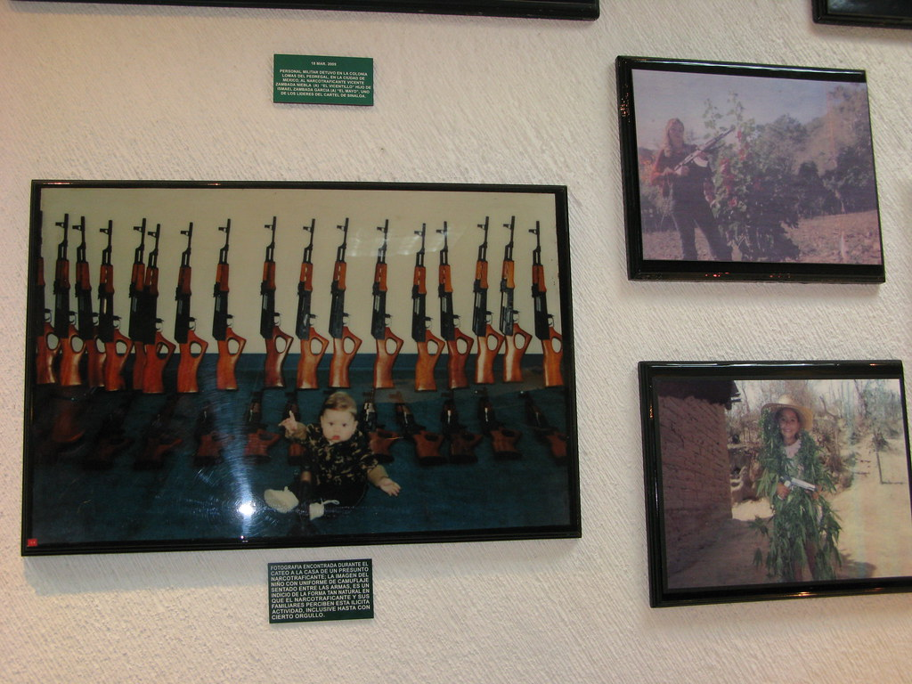 What does the drug museum in Mexico look like? 95