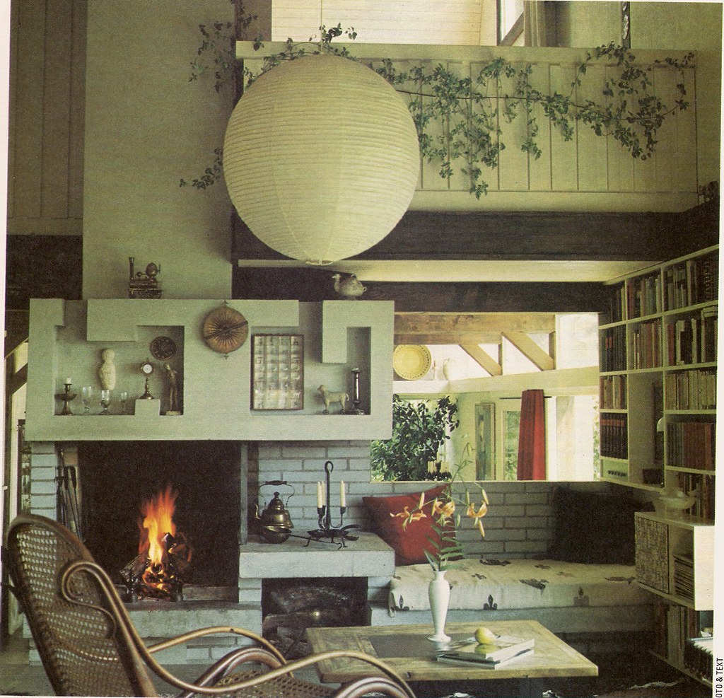 1970s living room from quot golden homes quot magazine c1974 71076