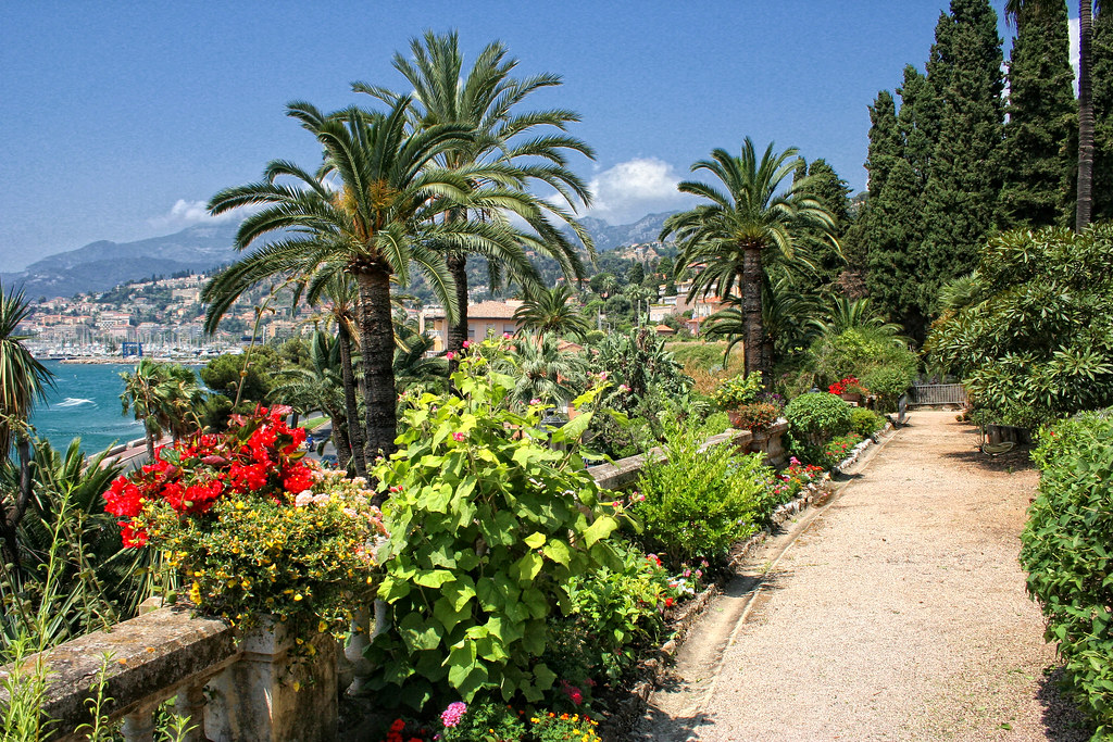 menton jardin de la villa maria serena 30 d couvrez menton flickr. Black Bedroom Furniture Sets. Home Design Ideas
