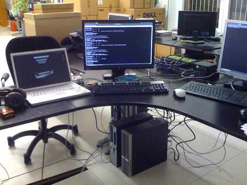 new desk setup