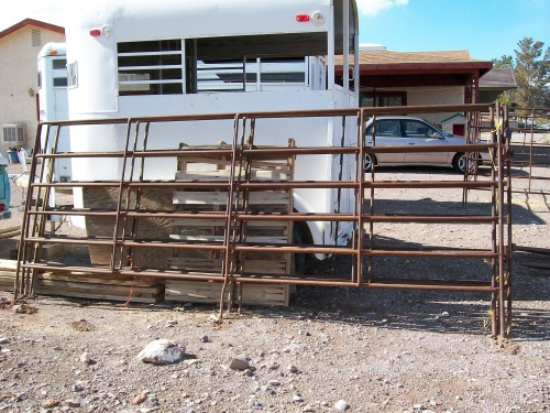 Portable Corral Systems For Horses : Portable horse livestock corral panels for sale in nevada