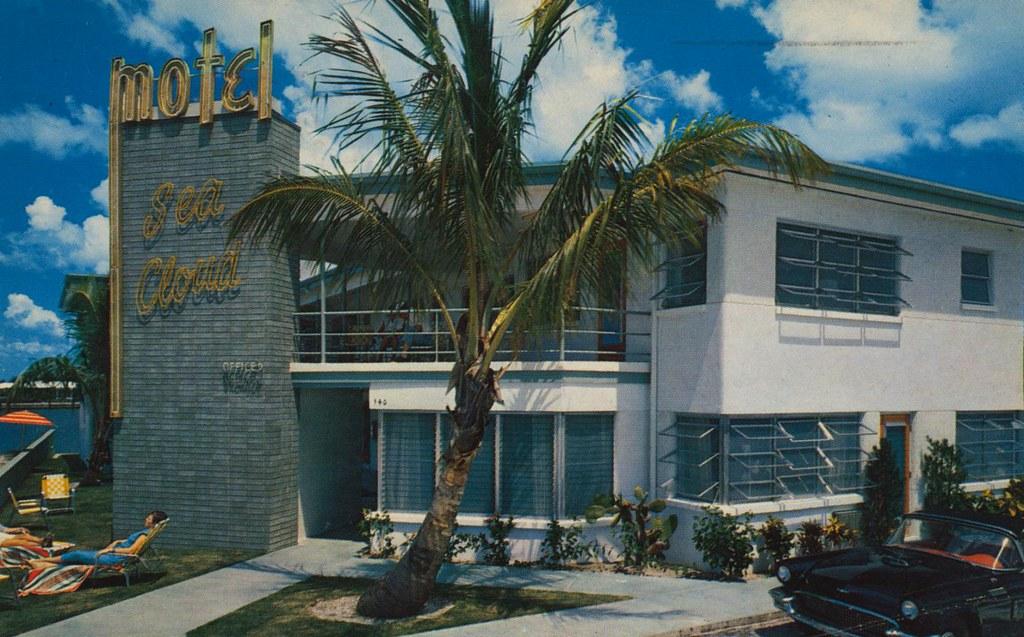 Sea cloud motel clearwater beach florida 540 so gulf for Fishing clearwater beach fl