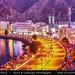 Oman - Muscat - Muttrah Corniche at Dusk - Twilight - Blue Hour - Night