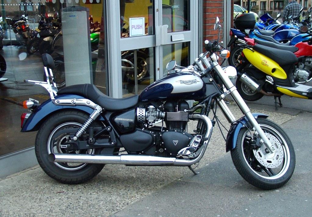 Triumph Speedmaster 2008 Triumph Speedmaster 865cc Fuel In Flickr