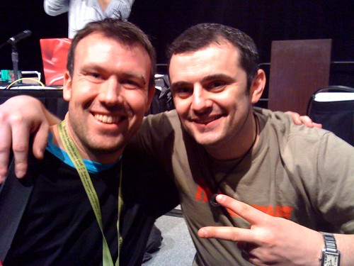 Great to meet Gary Vaynerchuk! #refreshgary #sxsw | by codegent blog