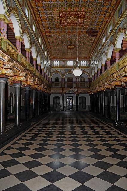Athangudi Palace The Main Hall Of The Athangudi Palace
