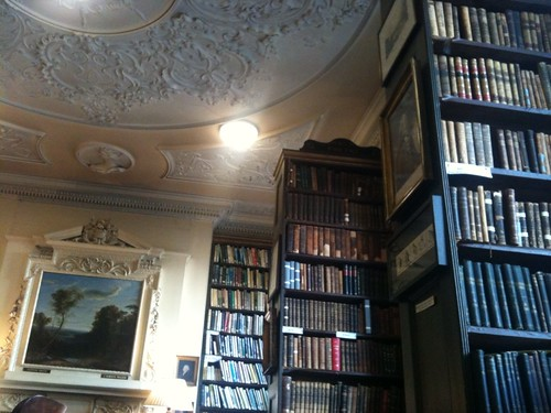 Managed to get into the beautiful Bromley House Library. Thanks to @pamreader & @robcutforth for tip. | by benjilanyado